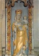 56 KERNASCLEDEN Notre Dame Statue En Granit  48 (scan Recto Verso)MF2798BIS - Rohan
