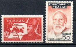 J1-19 Fezzan N° 53 + 67 ** Gomme Luxe . A Saisir !!! - Fezzan (1943-1951)