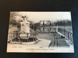 19 - ANNECY Cadran Solaire Et La Prefecture - 1918 Timbrée - Annecy