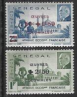 SENEGAL N°187 ET 188 N** - Sénégal (1887-1944)