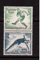 Olympic Games-1936,Berlin,Germany,(Mi.SK27) Football, Soccer, Fussball,calcio, MNH - Sommer 1936: Berlin