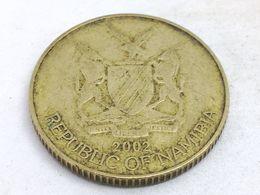 Moneda 2002. 1 Dólar. Namibia. KM 4. MBC - Namibia