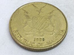 Moneda 2008. 1 Dólar. Namibia. KM 4. MBC - Namibië