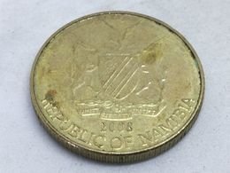 Moneda 2008. 1 Dólar. Namibia. KM 4. MBC - Namibia