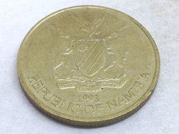 Moneda 1993. 5 Dólares. Namibia. KM 5. MBC - Namibia
