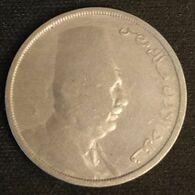 EGYPTE - EGYPT - 10 MILLIEMES 1924 ( 1342 ) - KM 334 - ( Fuad I ) - Egypte