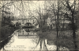 Cp Maintenon Eure Et Loir, La Voise Au Moulin Neuf - Autres Communes