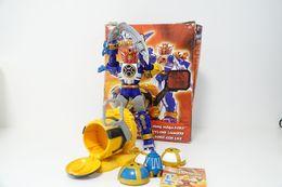 Vintage ACTION FIGURE POWER RANGERS: NINJA STORM  LIGHTNING MEGAZORD - WITH BOX - Original Bandai 2002 - GI JOE - Action Man