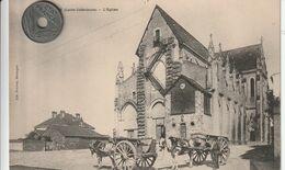 44 - Très Belle Carte Postale Ancienne De Boussay     L'Eglise - Boussay
