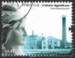 Portugal – 2008 The Republican Ideal 0,80 Used Stamp - 1910-... République