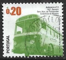 Portugal – 2009 Public Transports 0,20 Used Stamp - 1910-... République