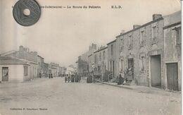 44 - Très Belle Carte Postale Ancienne De   BOUAYE    La Route Du Pellerin - Bouaye