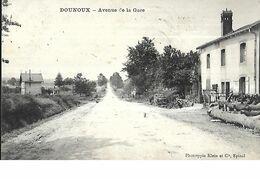 Dounoux ( 863 Habitants Dans Les Vosges ) Avenue De La Gare - France