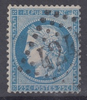 FRANCE : CERES N° 60A OBLITERE - VARIETE FILET NORD-OUEST CASSE - 1871-1875 Cérès