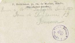 Cachet Soltau 83 Geprüft Sur CP Envoyée Au Soldat Prisonnier François Soulette (Z3032) Par M. Lachapelle (Ressaix) - WW I