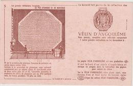 V P : Buvard : Vélin D ' Angoulême ,la Pile   Atomique G1 De  Marcoule - Löschblätter, Heftumschläge