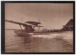 DT- Reich (008979) Propagandakarte Flugboot Vom Baumuster Do 18 Für Fernaufklärung, Ungebraucht - Germany