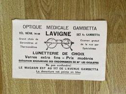 V P : Buvard :  Lavigne  Optique  , Le  Pereux ? - Löschblätter, Heftumschläge