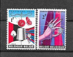 België 1965 Y&T Nr° 1313/14(**) - Unused Stamps
