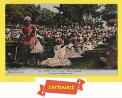CPA TAHITI POLYNESIE FRANCAISE  ♥️♥️☺♦♦  N° 87 LE APARIMA DANSE TAHITIENNE ֎ 14 Juillet 1926 - Tahiti