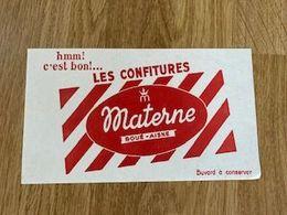 V P : Buvard : Materne , Boué  Aisne  , Confitures - Löschblätter, Heftumschläge