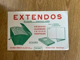 V P : Buvard :extendos  , Dossier , Classeur - Löschblätter, Heftumschläge