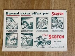 V P : Buvard :   Scotch    Ruban  Adhésif - Löschblätter, Heftumschläge