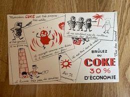 V P : Buvard : Brumez  Du  Coke - Löschblätter, Heftumschläge