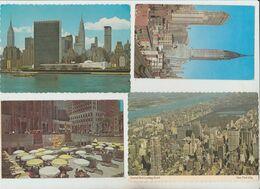 NEW YORK N. 4 CARTOLINE 1955  1967 1971 1979 VIAGGIATE - Multi-vues, Vues Panoramiques