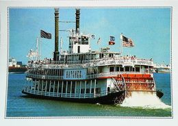 USA New Orleans A Mississippi Paddle Steamer     Années 80s - Autres