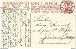 45 - 61 -  Entier Postal Envoyé De Bern 1909 - Entiers Postaux