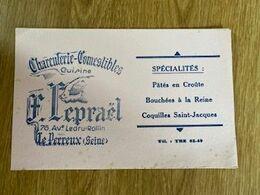 V P : Buvard :  Charcuterie  LE  PERREUX , Cochon - Löschblätter, Heftumschläge