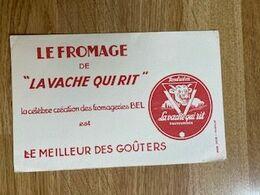 """V P : Buvard :  Fromage """" La  Vache  Qui  Rit """"   Bel - Löschblätter, Heftumschläge"""