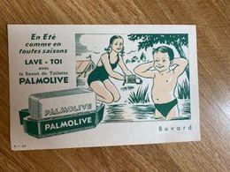 V P : Buvard :  Palmolive  , Enfant , Lave Toi - Löschblätter, Heftumschläge