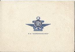 """Carte De Voeux - P.A. """"ARROMANCHES"""" - Militaria"""