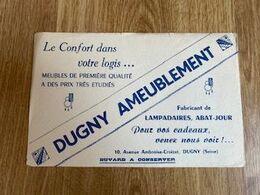 V P : Buvard :  Dugny  Ameublement - Löschblätter, Heftumschläge