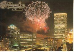 UNITED STATES : Unused Card FIREWORKS MILWAUKEE - WISCONSIN - Milwaukee