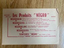 "V P : Buvard :  Produit  ""  Négro""  , Amiens - Löschblätter, Heftumschläge"