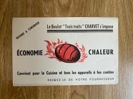 "V P : Buvard :  Chaleur , Le  Boulet  "" Troit  Traits ""  Charvet - Löschblätter, Heftumschläge"
