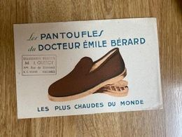 V P : Buvard : Pantoufles , Vincennes  J. Quercy - Löschblätter, Heftumschläge