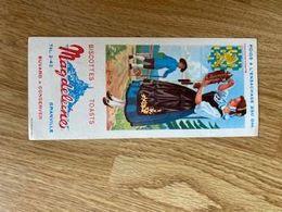 V P : Buvard : Magdeleine  Biscotte ,  Franche   Comté    , Illustrateur    Jeanbrun   , Granville - Löschblätter, Heftumschläge