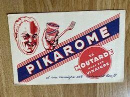 V P : Buvard :  Pikarome  , Moutarde - Löschblätter, Heftumschläge