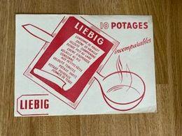 V P : Buvard : Liebig  , Potage - Löschblätter, Heftumschläge