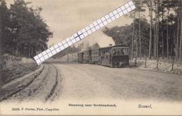 "BOUWEL-GROBBENDONCK""STEENWEG MET STOOMTRAM""HOELEN 3223 UITGIFTE 1907 TYPE 4 - Grobbendonk"