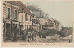 """91 MONTLHERY """" Station De Tramway Arrive Du Train """" ) - Montlhery"""
