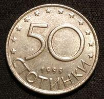 BULGARIE - BULGARIA - 50 STOTINKI 1999 - KM 242 - Bulgaria