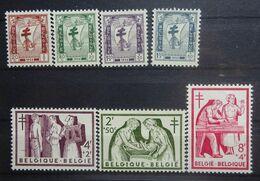 BELGIE 1956   Nr. 998 - 1004   Postfris **      CW 34,00 - Unused Stamps