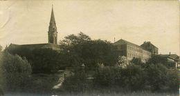 Bouguenais * église Et Séminaire * Photo Ancienne 1900 Albumine * Archive éditeur Photographe F. CHAPEAU - Bouguenais