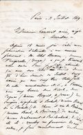 1869 Fabricant D'ABSINTHE - M. Abel BRESSON à Fougerolles (88) Prend Le Succession - Autres Négociants - Documentos Históricos