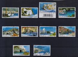 GREECE STAMPS GREEK ISLANDS III(PERFORATED ALL AROUND)-27/2/08-USED-COMPLETE SET(100) - Grèce